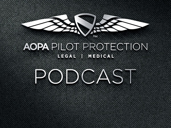 AOPA Podcast Logo