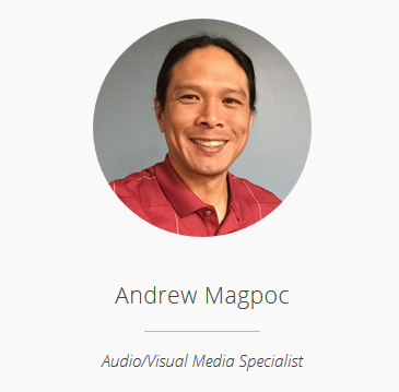 Andrew Magpoc Staff Page Picture